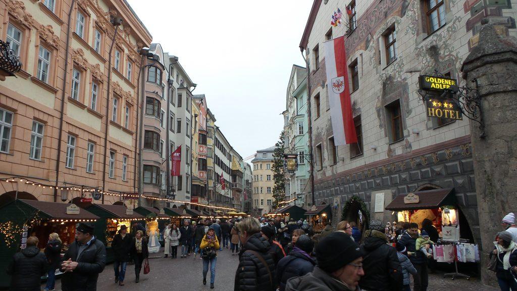 Il mercatino di Natale dell'Hofgasse a Innsbruck
