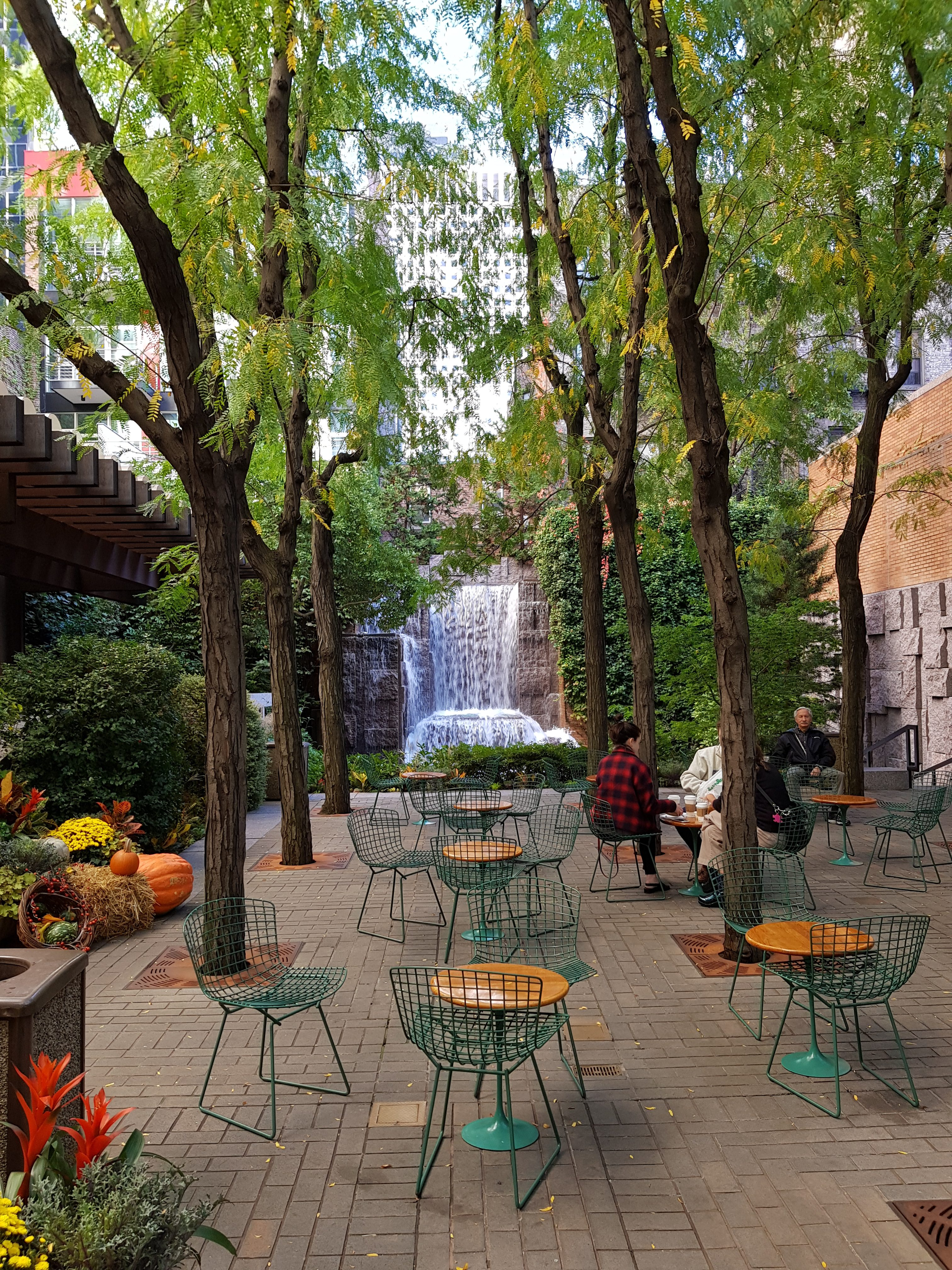 New York - Greenacre Park