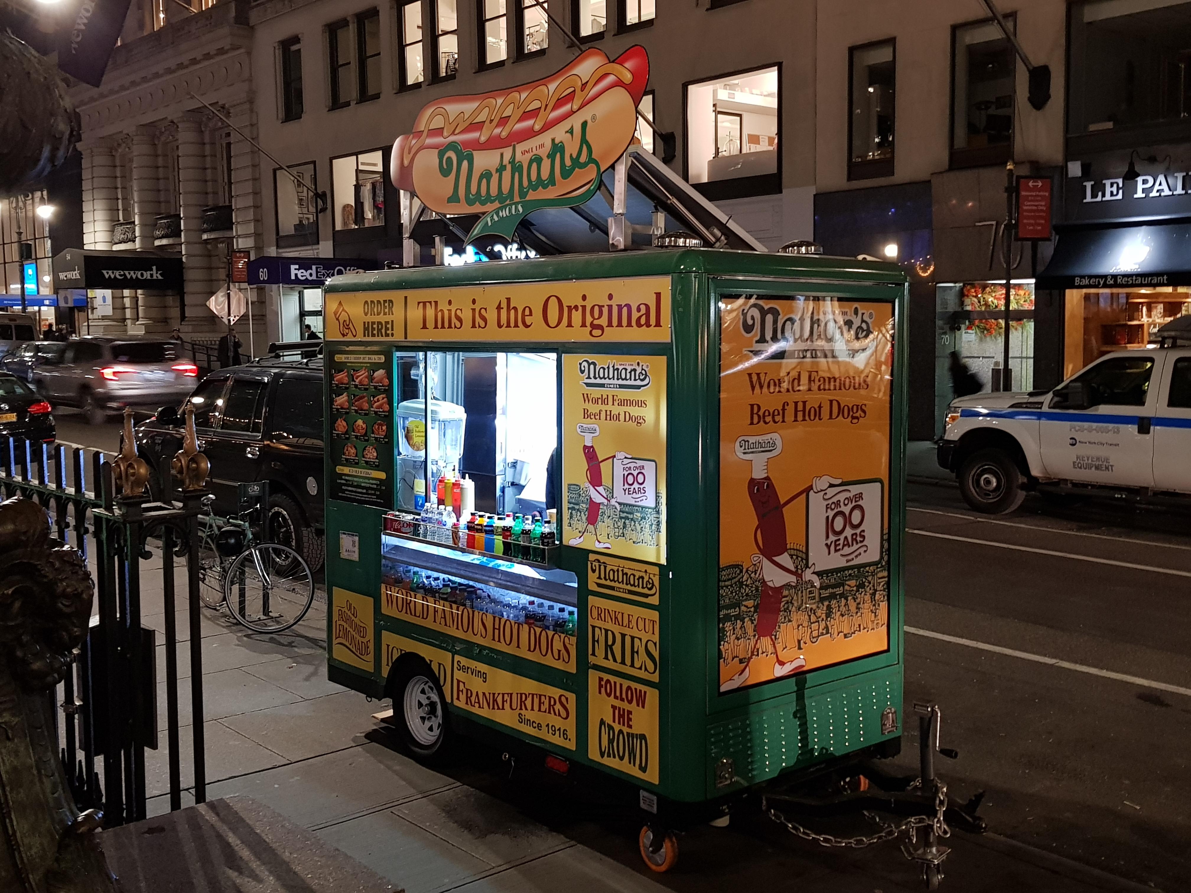 Dove mangiare Hot Dog a New York