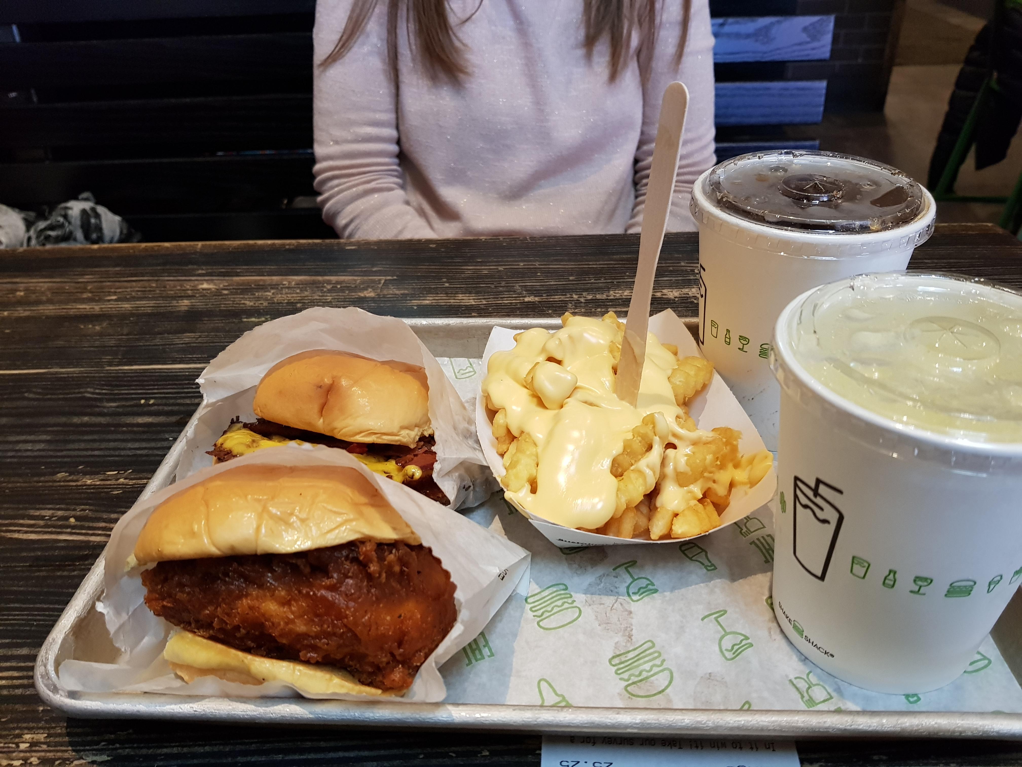 Dove mangiare hamburger a New Yotk: Shake Shack
