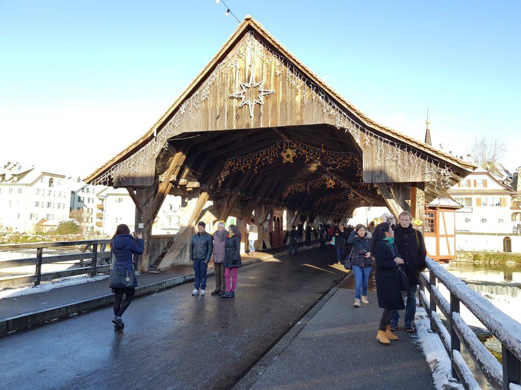 cosa vedere a Bremgarten: il ponte di legno coperto