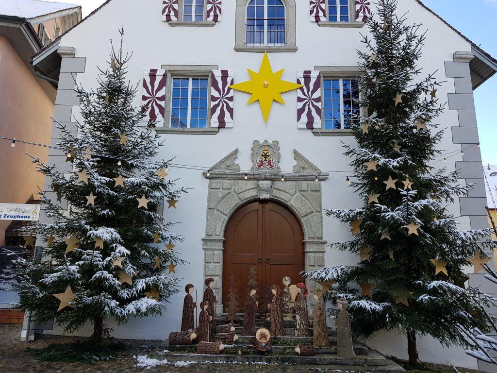 Il presepe dei mercatini di Natale di Bremgarten
