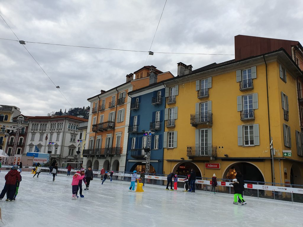 L'evento Locarno on ice