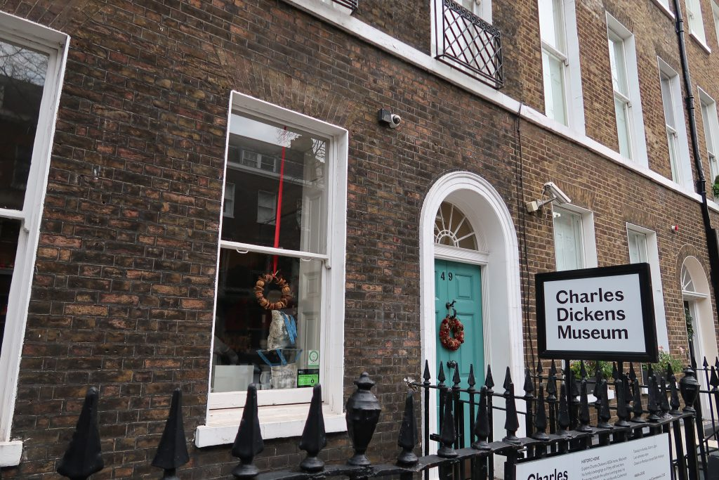 Il Charles Dickens Museum a Londra