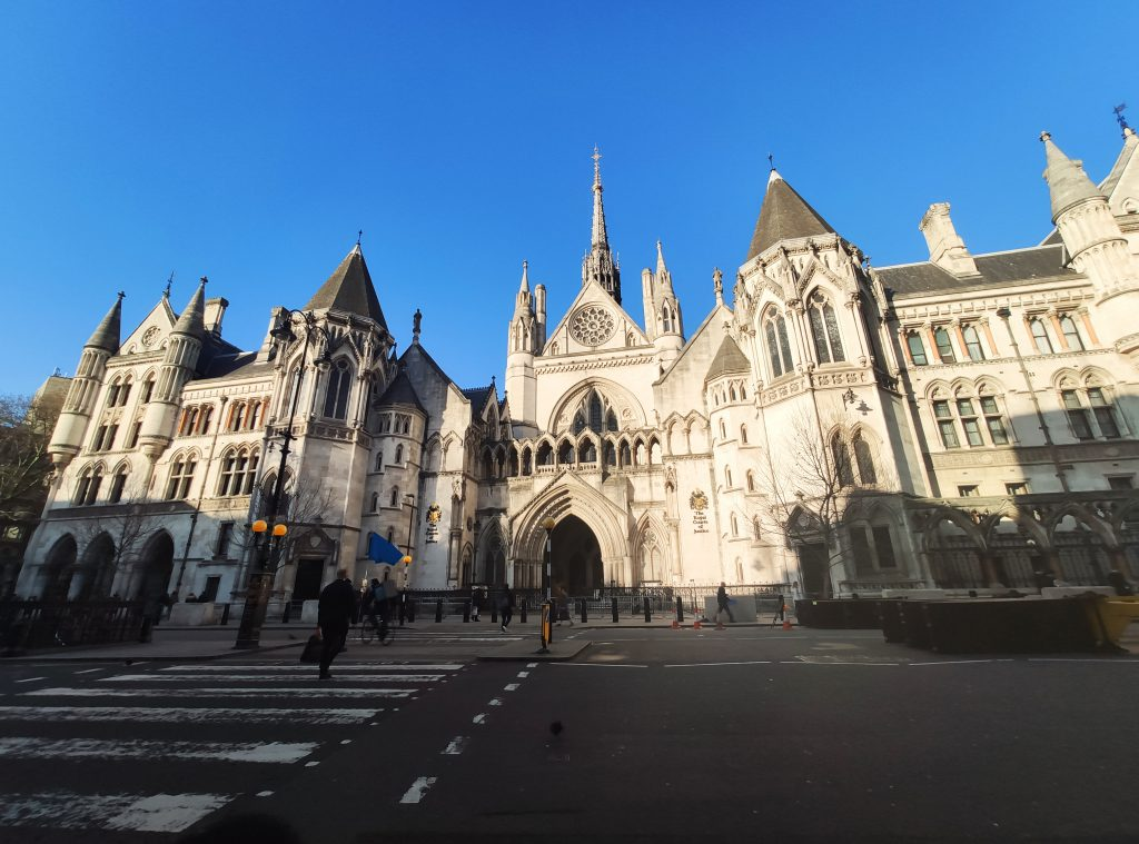 Royal Courts of Justice di Londra
