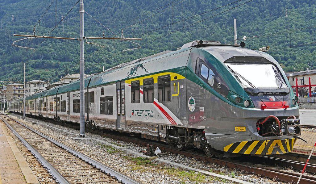 un treno regionale Trenord