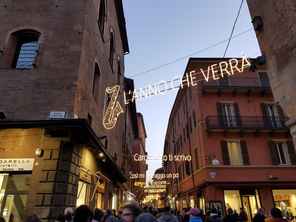 Via D'Azeglio a Bologna