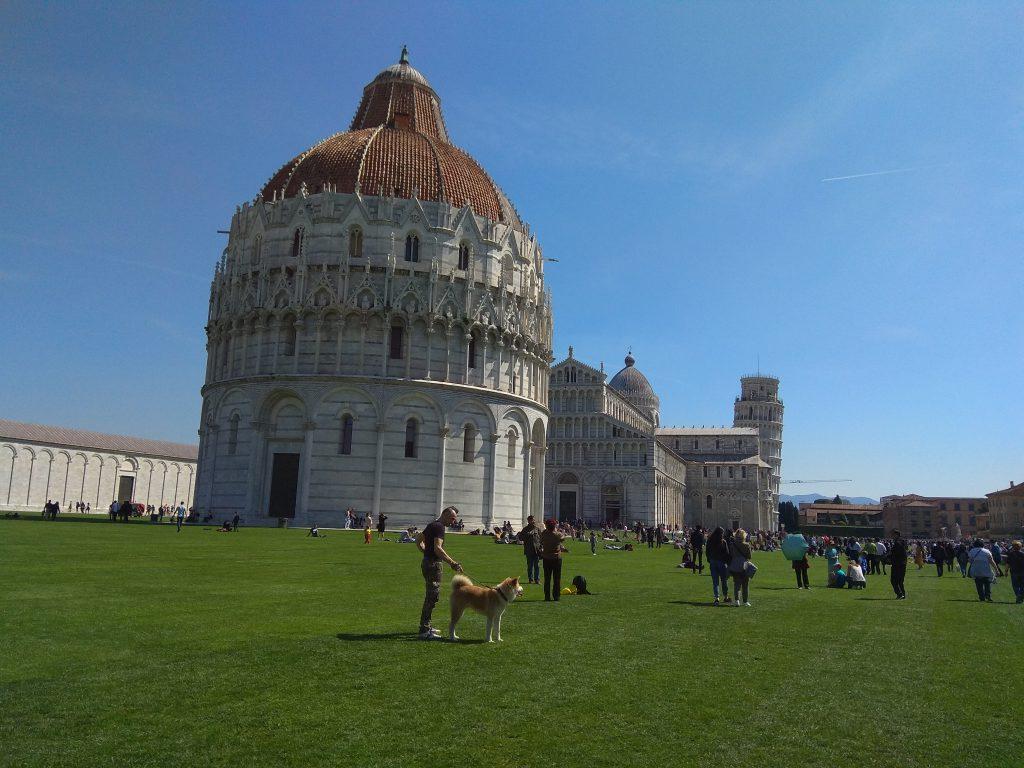 il Battistero di San Giovanni a Pisa