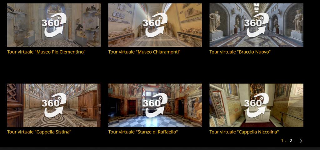 tour virtuali musei vaticani