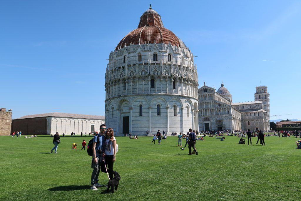 Vacanze in Toscana con il cane: Pisa