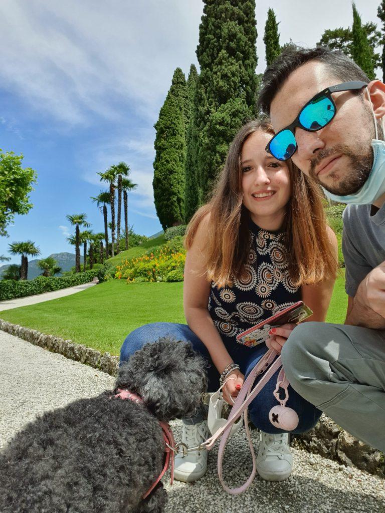 Visita a Villa del Balbianello con il cane