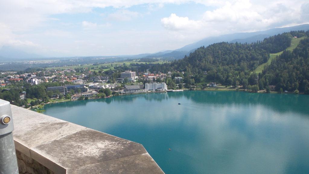 visitare la Slovenia con il cane: castello di Bled