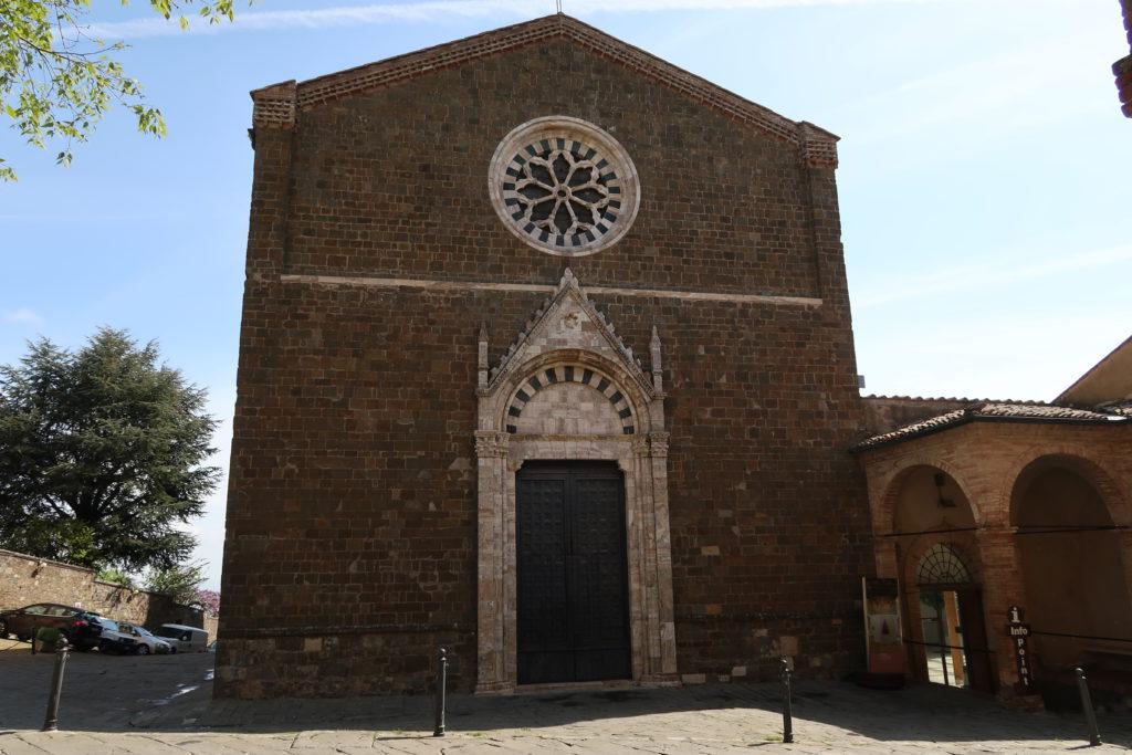 Cosa vedere a Montalcino: la Chiesa di Sant'Agostino