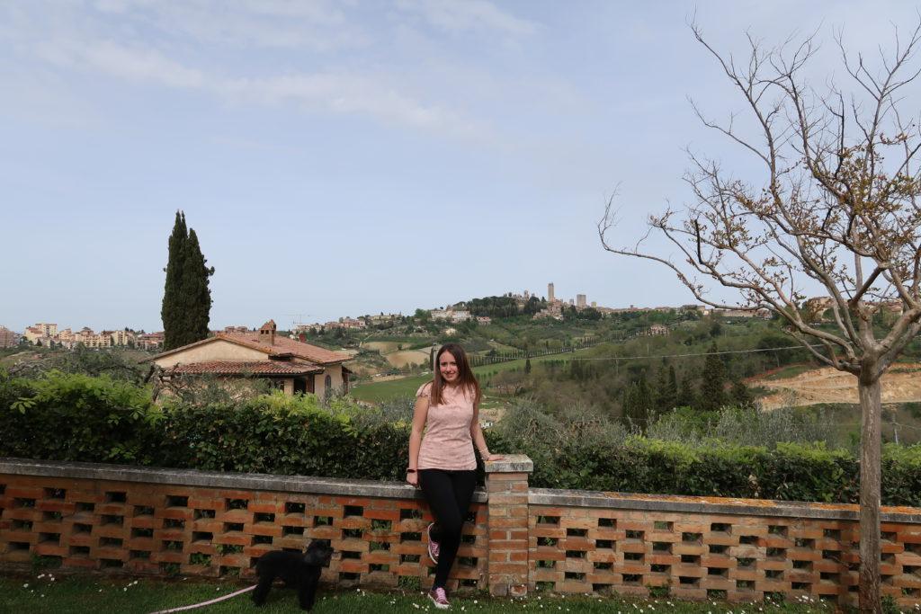 La vista sul borgo di San Gimignano