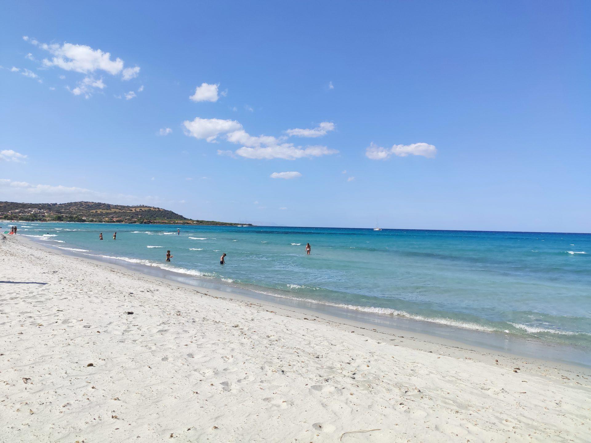 la spiaggia di capo comino
