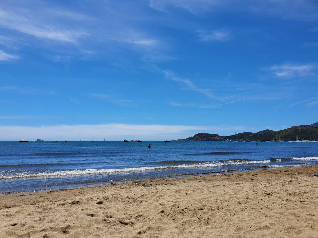 La spiaggia di Orbetello