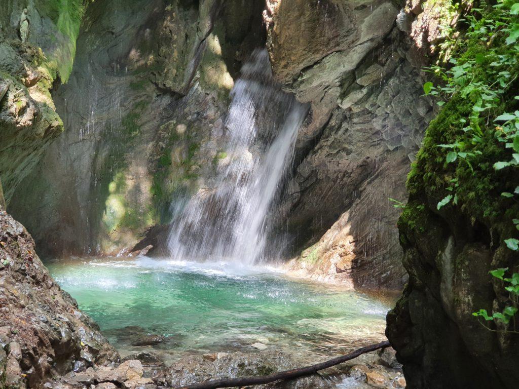 Cosa vedere nella Valle di Ledro: la Cascata del Gorg d'Abiss